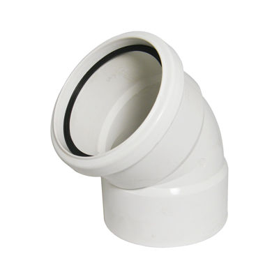 Picture of 110mm WHITE OFFSETBEND-TOP