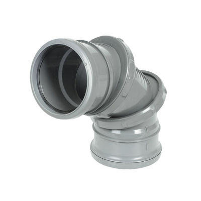 Picture of 110mm GREY 0-90*ADJ.BEND-DS
