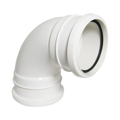Picture of 110mm WHITE 92.5* BEND-DS