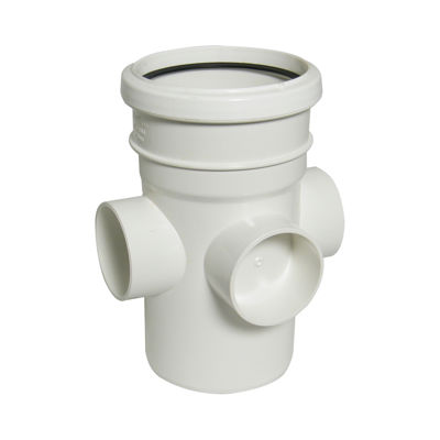 Picture of 110mm WHITE BOSS PIPE-S&S