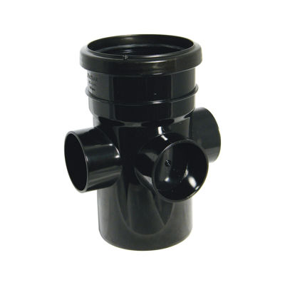 Picture of 110mm BLACK BOSS PIPE-S&S