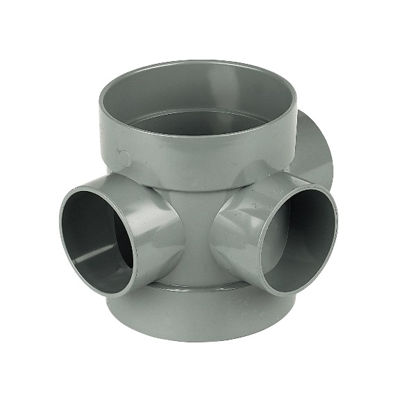 Picture of 110mm GREY SHORT BOSS PIPE