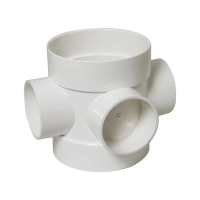 Picture of 110mm WHITE SHORT BOSS PIPE
