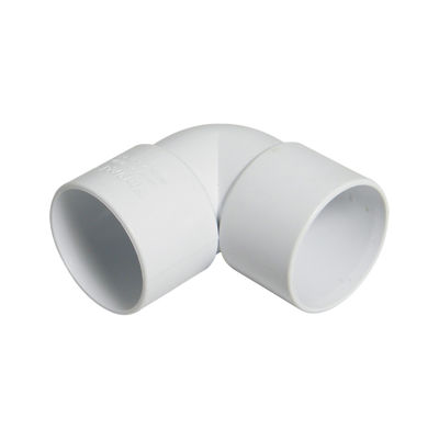Picture of 40mm WHITE ABS 90* BEND