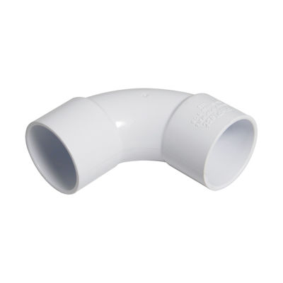 Picture of 32mm WHITE ABS 92.5* BEND