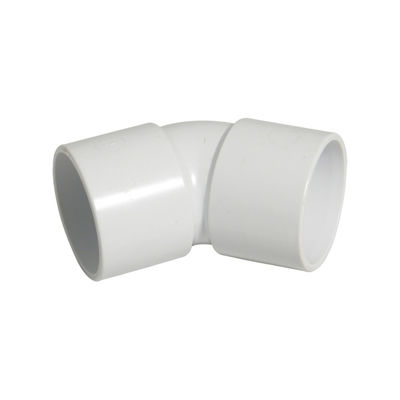Picture of 40mm WHITE ABS 135*BEND