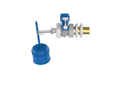 Picture of DUDLEY HYDROFLO FLOAT VALVE S/E BRASS TAIL