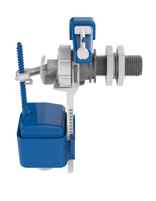 Picture of DUDLEY HYDROFLO COMPACT WATER SAVING S/E INLET VALVE 1/2 PLASTIC TAIL