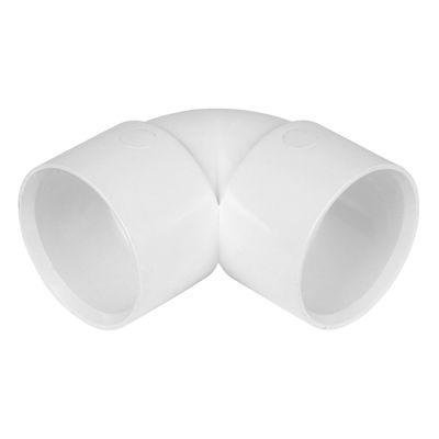 Picture of MUPVC SOLV WELD 90 BEND X 50MM BRIGHT WHITE