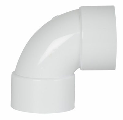 Picture of UPVC SOLVWELD 92.5BEND X 50MM BRIGHT WHITE