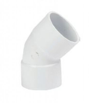 Picture of UPVC SOLVWELD 135 BEND X 40MM BRIGHT WHITE