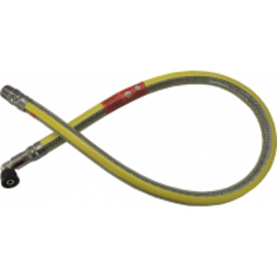 Picture of GAS COOKER HOSE 1250mm  STAINLESS STEEL MICROPOINT