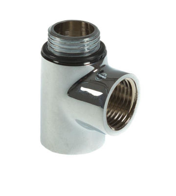 """Picture of DUAL FUEL TEE CHROME 1/2"""""""