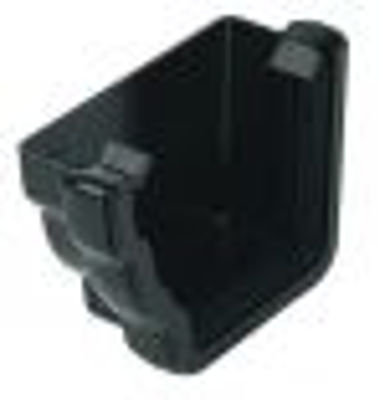 Picture of REN1 NIAGARA CAST IRON EXT. STOP END LH BLACK