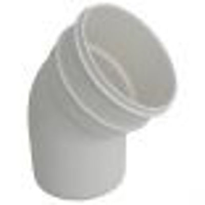 Picture of 110mm WHITE OFFSETBEND-BOTM
