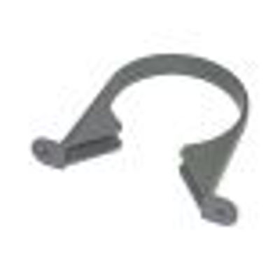 Picture of 110mm Olive Grey PIPE CLIP