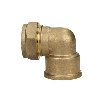 """Picture of 22mm x 1"""" FEMALE ELBOW COMPR"""