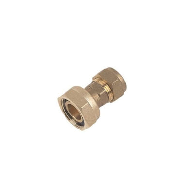 """Picture of 15mm x 3/4"""" STR TAP CONN COMPR"""
