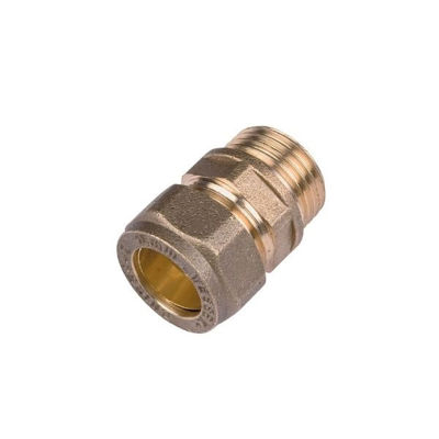 """Picture of 8mm x 1/4"""" MALE ADAPT COMPRES"""