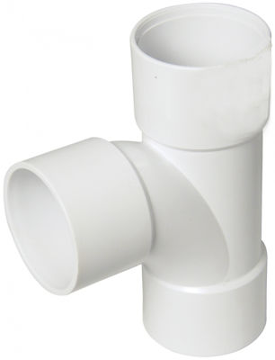Picture of UPVC SOLV WELD TEE X 50MM BRIGHT WHITE