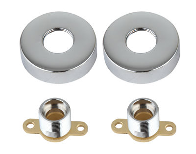 Picture of VALUE BAR SHOWER WALL BRACKETS CHROME