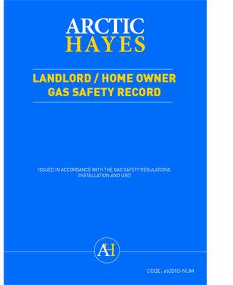 Picture of LANDLORDS/HMEOWN RECORD PAD OF 25 NO SEQ